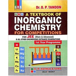 Textbook of Inorganic Chemistry for for JEE Main & Adv.