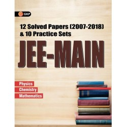 JEE-MAIN 12 Solved Papers and 10 Practice Sets
