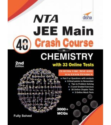 JEE Main 40 Days Crash Course in Chemistry with Online Test