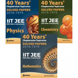 40 Years Chapterwise Solved Papers IIT JEE Physics,