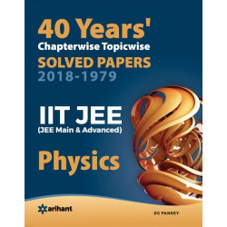 40 Years Chapterwise Solved Papers JEE Physics