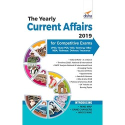 The Yearly Current Affairs 2019 for Competitive Exams -