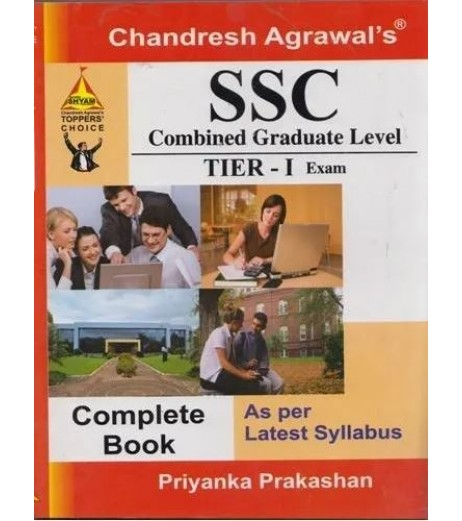 Chandresh Agrawal's  SSC Combined Graduate Level TIER-I Exam