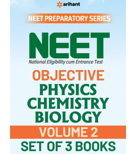 NEET Objective of PCB Vol. 2 set of 3