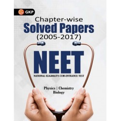 NEET Chapter-wise Solved Paper