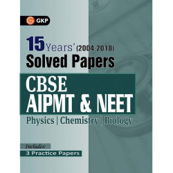 CBSE AIPMT & NEET 15 Years' Solved Papers