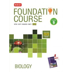 MTG Foundation Course Biology Class 9 for NEET/Olympiad/JEE