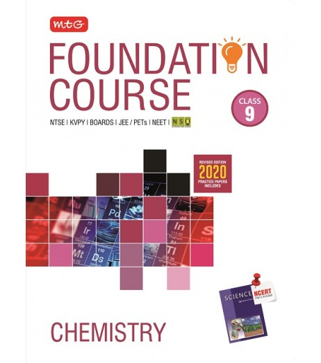 MTG Foundation Course Chemistry Class 9 for NEET/Olympiad/JEE 2020-21