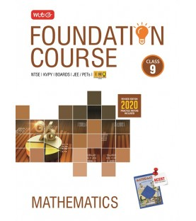 MTG Foundation Course Mathematics  Class 9 for JEE/Olympiad/NTSE 2020-21