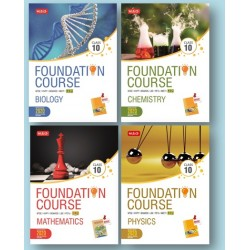 MTG Foundation Course combo (Phy, Chem, Bio, Maths) Class