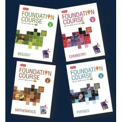 MTG Foundation Course combo (Phy, Chem, Bio, Maths) Class 9