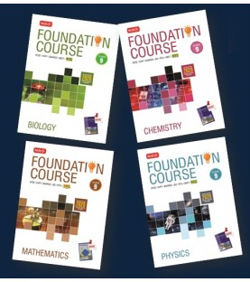 MTG Foundation Course combo (Phy, Chem, Bio, Maths) Class 9 revised 2020 including Practical Paper