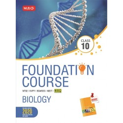 MTG Foundation Course Biology Class 10 for NEET / Olympiad