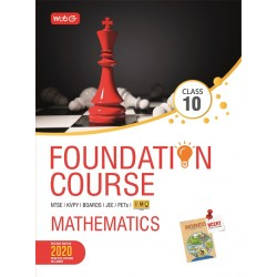 MTG Foundation Course Mathematics Class 10 for NEET /