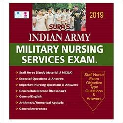 Indian Army Military Nursing Service Exam Objective Type