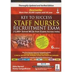 Key to Success Staff Nurses Recruitment Exam (12000+ Solved