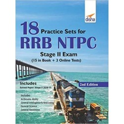18 Practice Sets for RRB NTPC Stage II Exam (15 in Book + 5