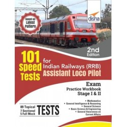 101 Speed Test for Indian Railways (RRB) Assistant Loco