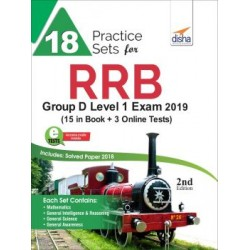 18 Practice Sets for RRB Group D Level 1 Exam 2019 with 3