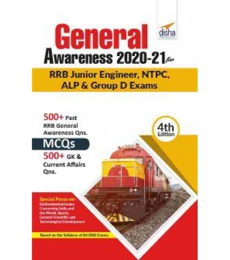 General Awareness 2020-21 for RRB Junior Engineer, NTPC, ALP and Group D Exams 4th Edition