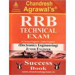 Chandresh Agrawal's RRB Technical Exam (Electronics Engineering) Middle Size