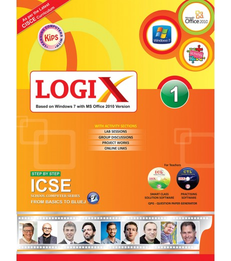 Logix 1 ICSE-Bases On Windows 7 With MS office 2010 Version