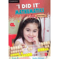 I Did It Mathematics Book 3 Cambridge