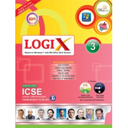 Logix 3 ICSE-Bases On Windows 7 With MS office 2010 Version