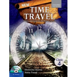 New Time Travel Class 4 -History civics for Primary School