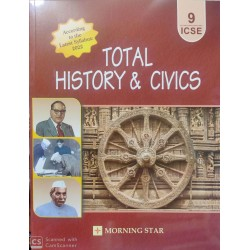 Total History and Civics for ICSE Class 9 by Dolly Sequeira | Latest Edition