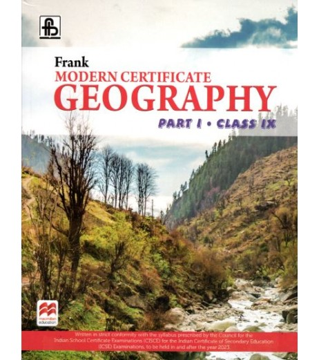 Frank Modern Certificate Geography Part 1 class 9 2021 edition