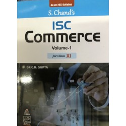 ISC Commerce Vol-I Class 11 by C.B. Gupta as per 2022 syllabus