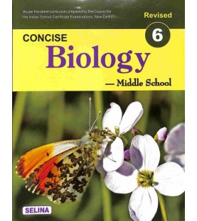 Concise Biology for ICSE Class 6 by K K Gupta   Latest Edition