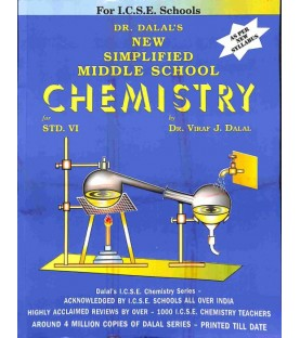 New Simplified Middle School Chemistry for ICSE Class 6 by Viraf J Dalal   Latest Edition