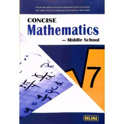 Concise Mathematics Class 7 By R K Bansal 2019-20