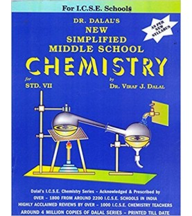 New Simplified Middle School Chemistry for ICSE Class 7 by Viraf J Dalal   Latest Edition