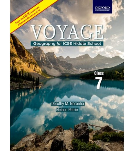 Oxford Voyage Geography For ICSE Middle School Class 7
