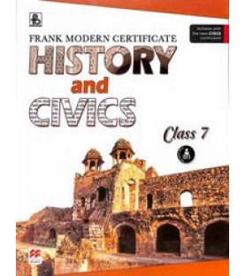 frank modern certificate history and civics Class 7 book