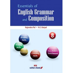 Essentials Of English Grammar And Composition 8 by Rajendra