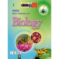 Candid New Trends In Biology Class 8 (ICSE) by Pradeep