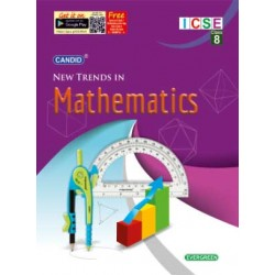 Candid New Trends In Mathematics  Class 8 (ICSE) 2019-20