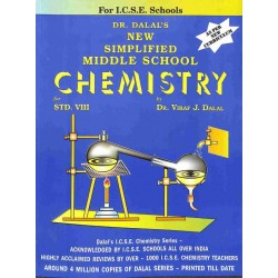 New Simplified Middle School Chemistry ICSE Class 8 by