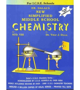 New Simplified Middle School Chemistry ICSE Class 8 by Viraf J. Dalal