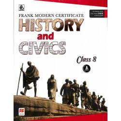 Frank Modern Certificate History And Civics Class 8 (ICSE)