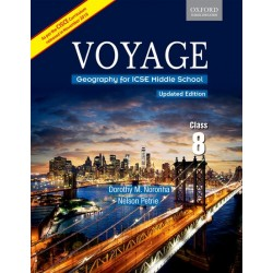 Oxford Voyage Geography For ICSE  Middle School Class 8
