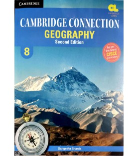 Cambridge Connection Geography Class 8 as per latest CISCE curriculum