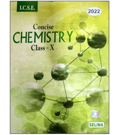 Selina ICSE Concise Chemistry for Class 10 2022