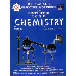 Objective Workbook For Simplified ICSE Chemistry Class 10 by  Viraf J. Dalal 2021