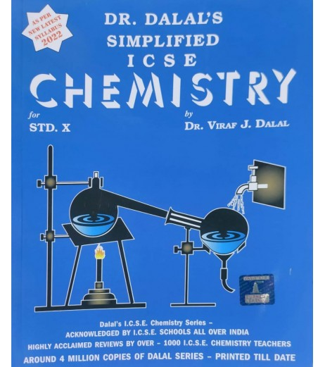 Simplified ICSE Chemistry Class 10 by  Viraf J. Dalal 2022
