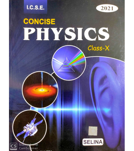 Selina ICSE Concise Physics for Class 10 2021